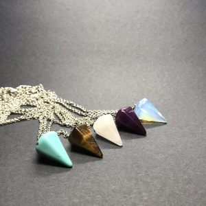 Jo Townsend Wellbeing - Crystal Pendulums